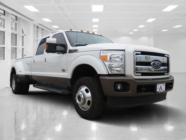 pre-owned 2015 ford super duty f-350 drw king ranch crew cab pickup